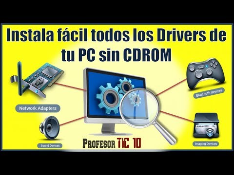 Instala fácil los Drivers de tu PC sin CDROM | How to Install Drivers on My Computer Without CDROM