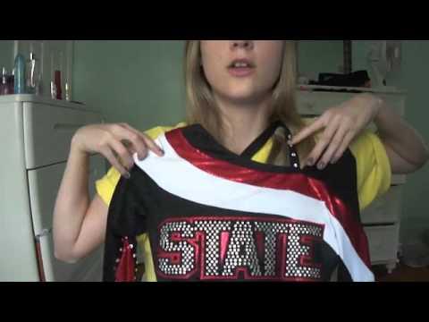 Linds' Cheerleading Uniform!