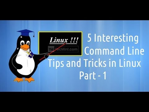 linux Tips and Tricks