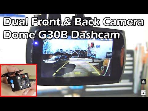 DUAL CAMERA CAR DASH CAM - 2.7