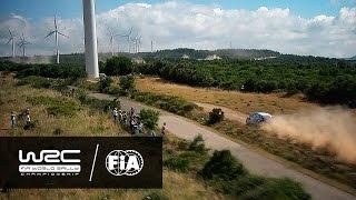 WRC - Rally Italia Sardegna 2016: Spectacular Aerial Clip