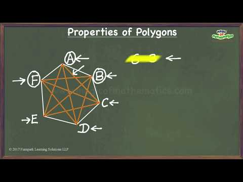 Number of diagonals of a polygon