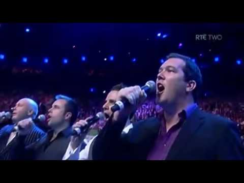The High Kings - Irish National Anthem O2 Arena Dublin