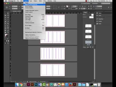 Project 5 - Page Layout Using Grids and Preparing for Sketching