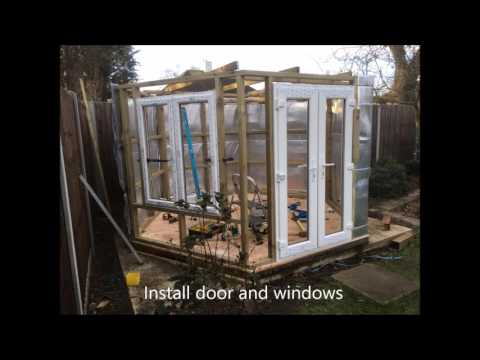 How to Make a Summer House part 2