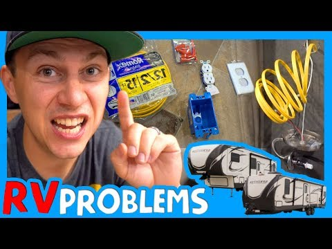 🔌 RV REMODEL PROBLEMS 💡 RV Electrical Troubleshooting 🤺