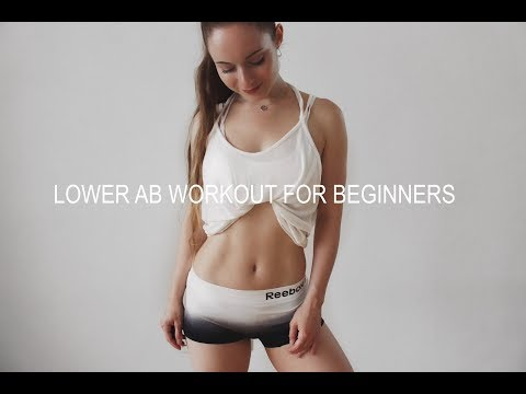 Lower Ab Workout For Beginners ❤ Flatten Lower Belly In 5 Minutes