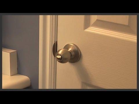 Bathroom door knob replacement