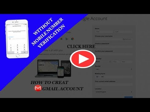 how to create gmail account without phone number verification Urdu  Hindi 2018
