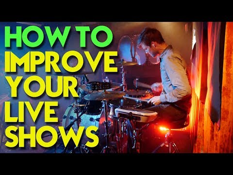 How to Improve Your Band's Live Shows to Be More Entertaining