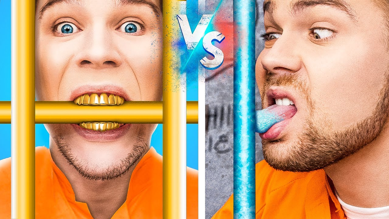 Rich Jail vs Broke Jail / 20 Funny Situations