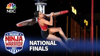 Kacy Catanzaro at the Las Vegas National Finals: Stage 1 - American Ninja Warrior 2017