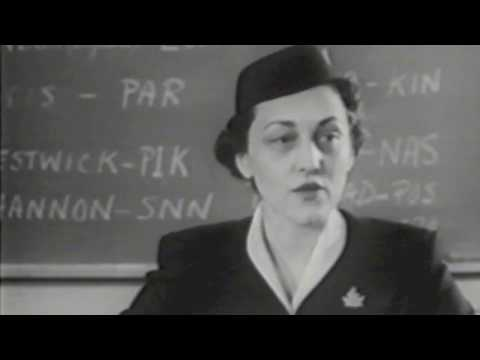 Trans-Canada Airlines stewardess training 1950s: How times have changed!