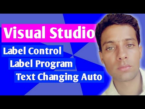 Changing Text and Color of Label with Buttons- Visual Studio