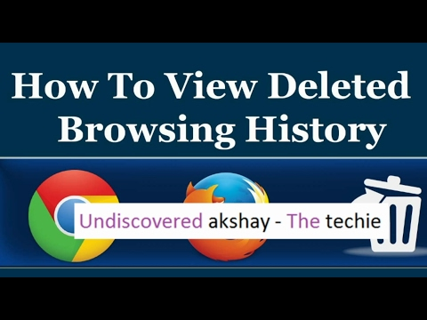 How to View Deleted Browsing History in Google Chrome