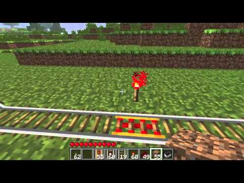 Minecraft: How to make a railway system