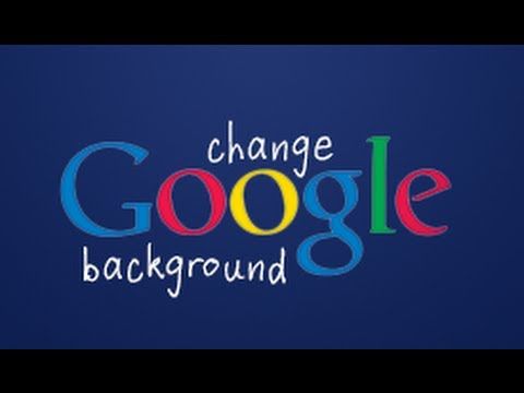 How to Change Google Background Image