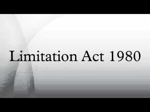 Limitation Act 1980