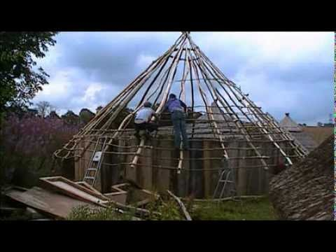 How to Start a Roundhouse Roof