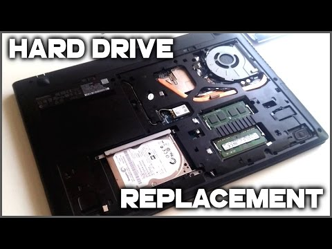 Lenovo IdeaPad G50-45 - How to Upgrade HDD to SSD