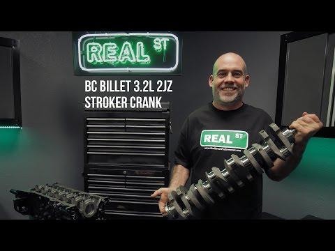 Brian Crower BC Billet 3.2L 2JZ Stroker Crank - Real Street Performance