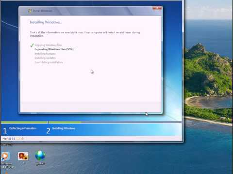 How to Remove Windows XP And Install Windows 7