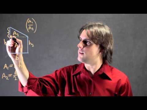 How to Find the Ratio of Areas in a Trapezoid : Math Calculations & More