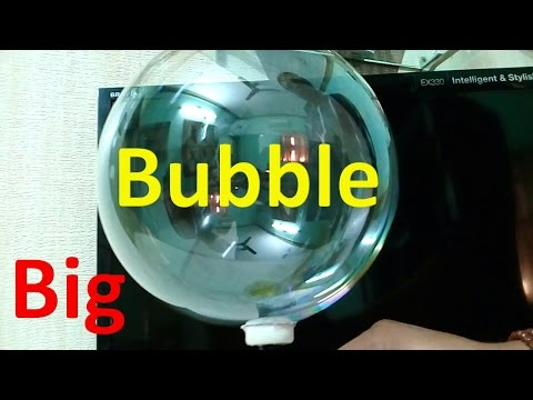 How to make a Big Bubble Machine at home - Easy Way