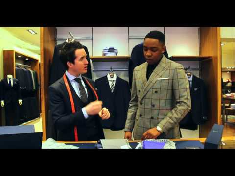 Made to Measure Suit Customization with Lawson from Laws of Style