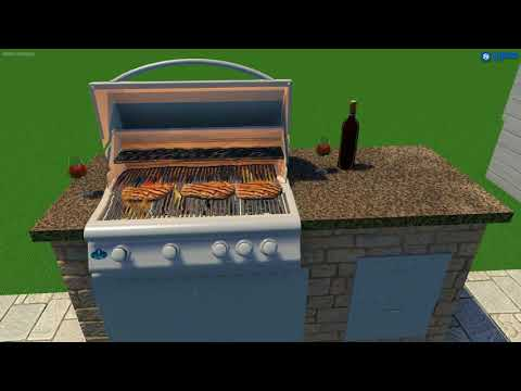 3D Design by The OutDoor Kitchen Store