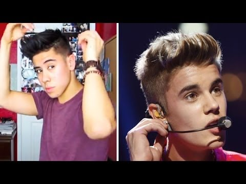 JUSTIN BIEBER HAIRSTYLE TUTORIAL • 2012 (REQUEST!) | JAIRWOO