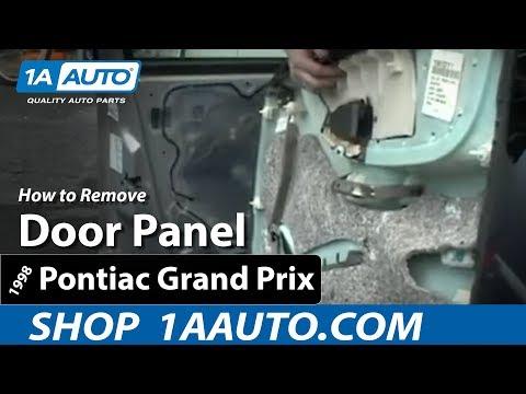 How To Install Replace Remove a Door Panel on a 97-03 Pontiac Grand Prix 1AAuto.com