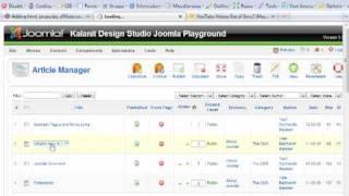 Adding html, javascript, affiliate code into Joomla content item