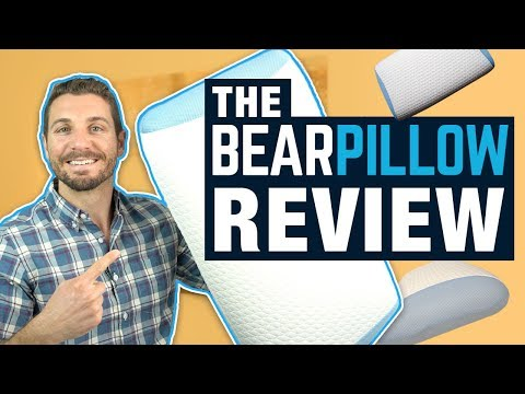 Bear Pillow Review 2018 (Best Pillow For Side Sleepers?!)
