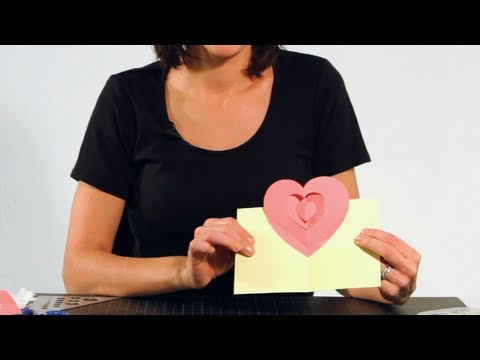 How to Make a Heart Pop-Up Card | Pop-Up Cards