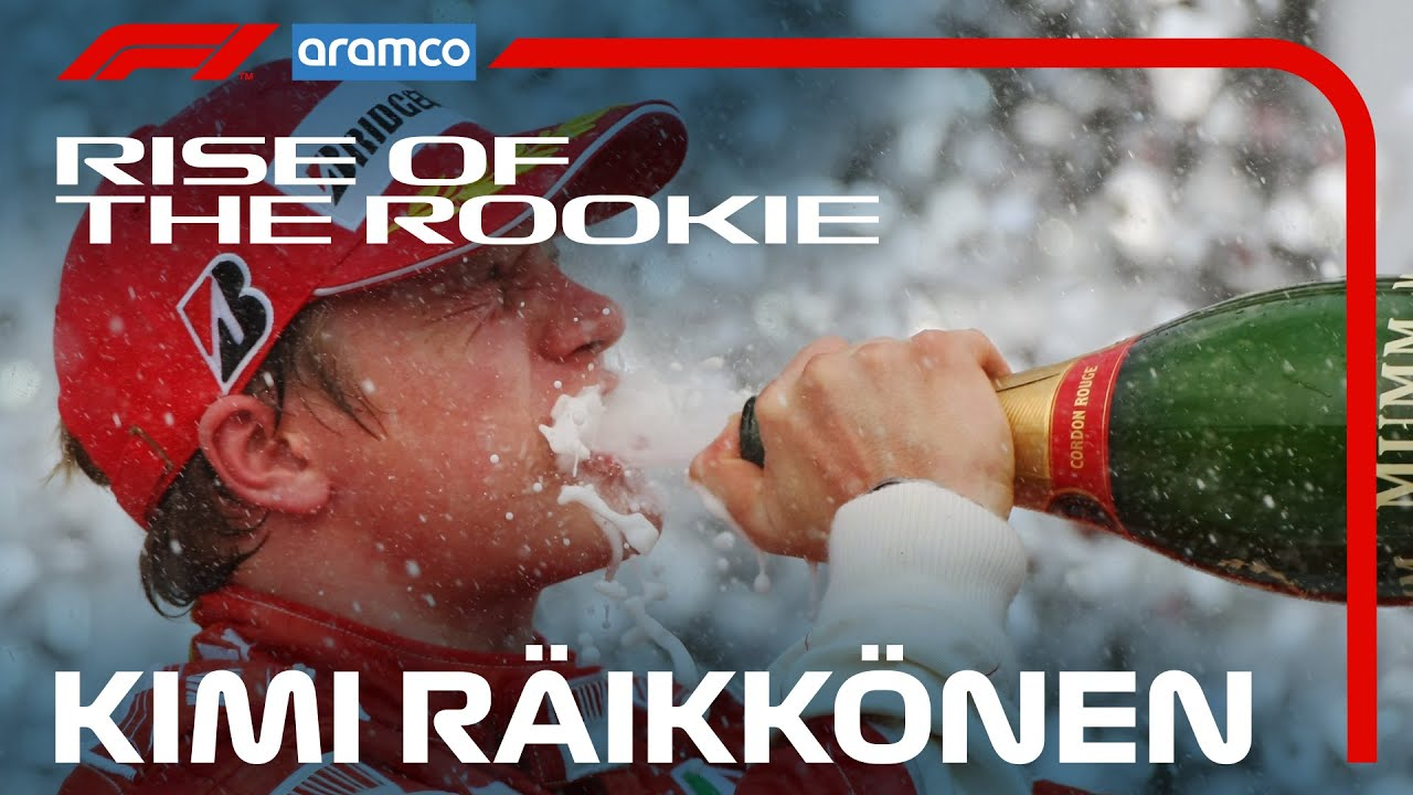 Kimi Raikkonen: The Story So Far   Rise of the Rookie presented by Aramco