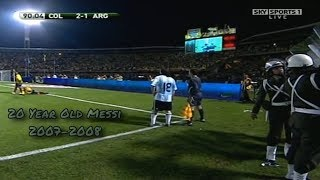 This Is Why Lionel Messi Was The Best Player In The World At 20 Years Old ► Pure Dribbling Skills