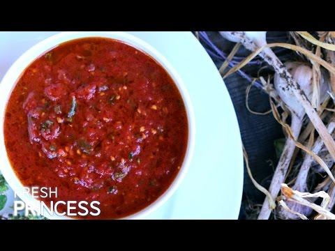 Simple Delicious No-Cook Pizza Sauce  |  Fresh P