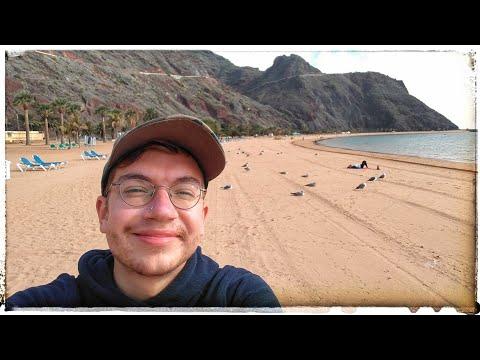 Exploring Playa De Las Teresitas - Tenerife Beach // Phone Diary 018