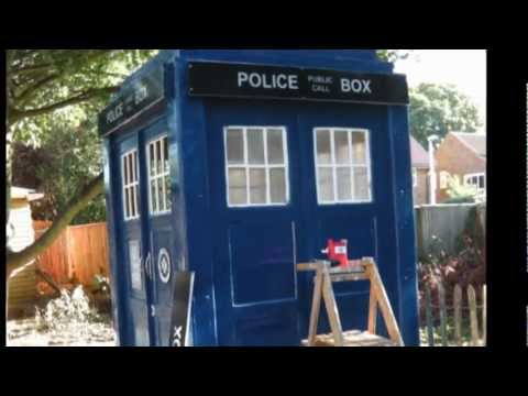Police Box Tardis Build