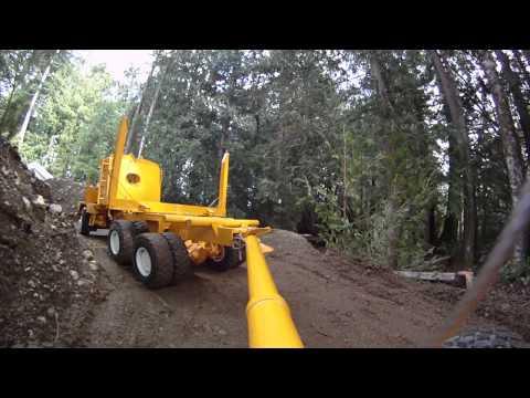 Kenworth RC Log Truck, trailer view