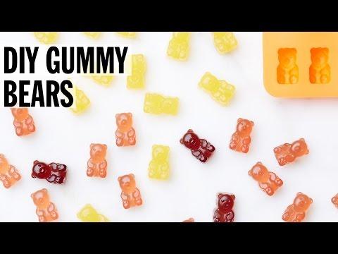 How to Make DIY Gummy Bears   Food Network