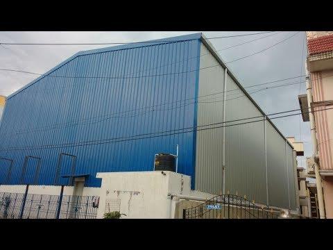 Badminton Court Shed with Mezzanine Flooring @ Semmancheri Chennai