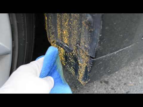 Best way to remove road paint from your car