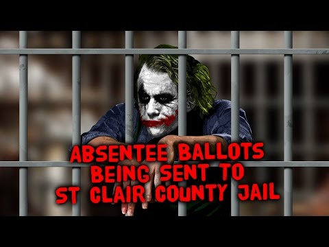 Absentee Ballots Being Sent To St Clair County Jail