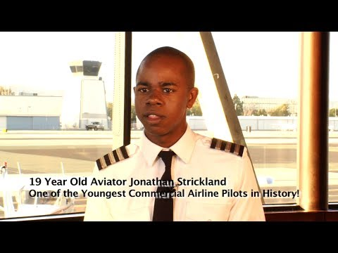 Young Commercial Airline Pilot Jonathan Strickland makes History by filmmaker Keith O'Derek (final)