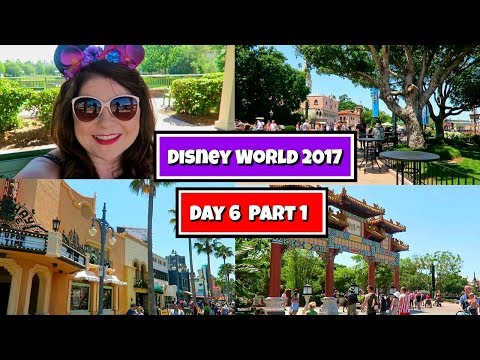 Disney World Vlog May 2017 : Day 6 part 1 | Epcot, Hollywood Studios and getting sick!