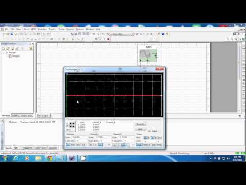 LPF circuit using MULTISIM for biginners
