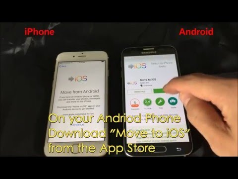 Android to iPhone: Transfer Contacts, Gmail, Messages, Photos, Videos, Calendar, etc