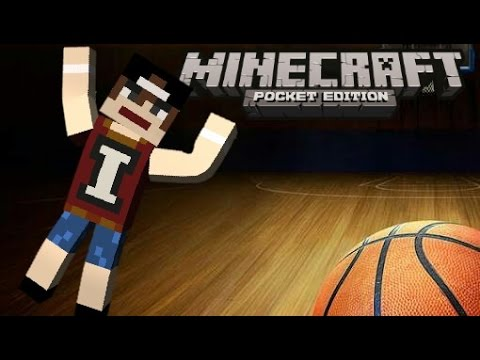 How to make Basketball Court - Minecraft Pocket edition